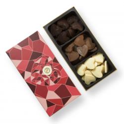 coeur en chocolat cado