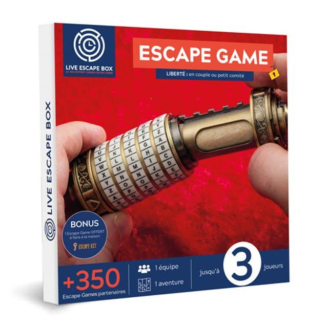 escape game cadeau noel
