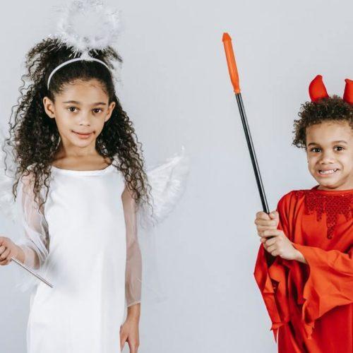 thème soirée déguisée ange et demon