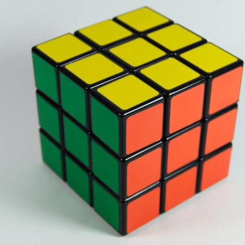 thème rubiks cube déguisement