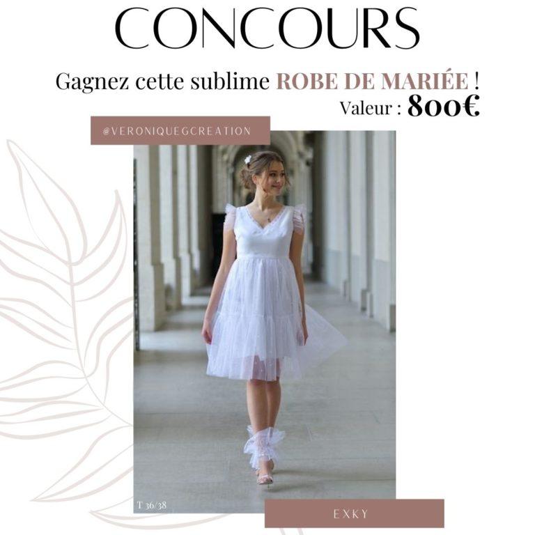concours robe de mariée